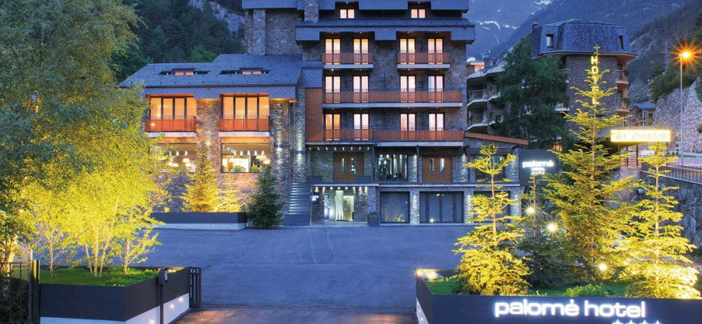Près de Andorre-la-Vieille, l'hôtel Palomé.